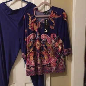 Tops - 🌸 2 for $25.  CSC Studios 2 PC Pant And Top Set